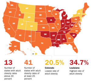 national obesity rates
